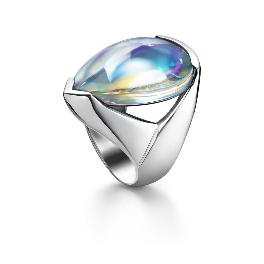 PSYDÉLIC RING  Iridescent clear Image