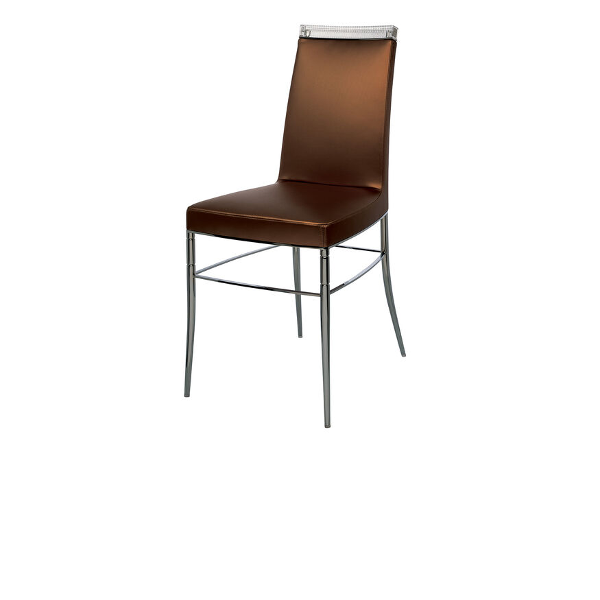 GLASS CLASS CHAIR  Copper Image