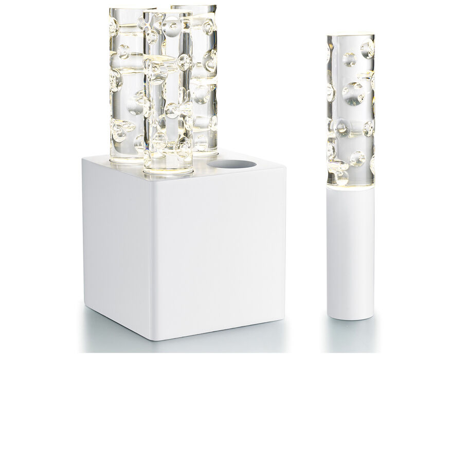 JARDIN DE CRISTAL JALLUM VOTIVES, White