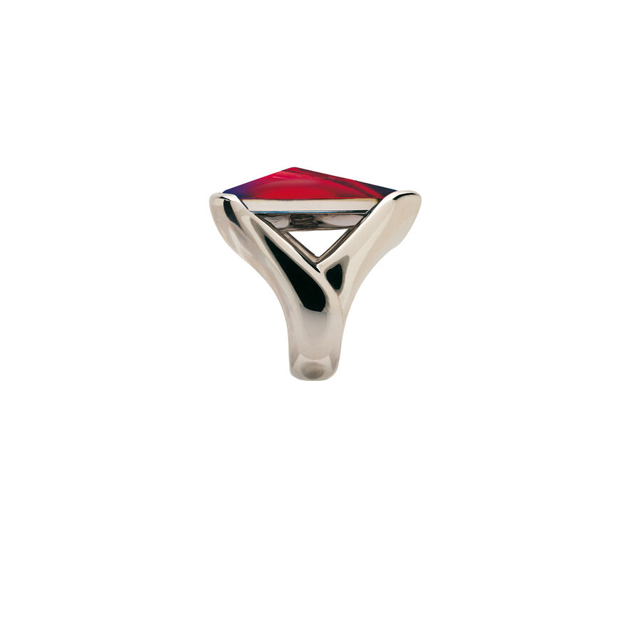 PSYDÉLIC RING  Iridescent red Image - 3