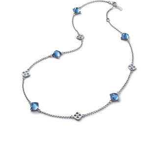 MINI MÉDICIS NECKLACE  Riviera blue Image