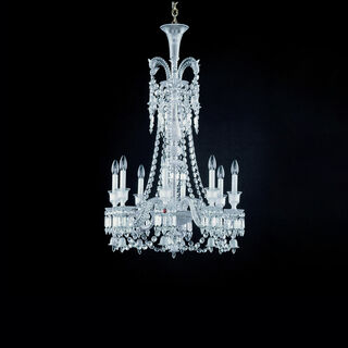 ZÉNITH CHANDELIER 8 TO 24 LIGHTS  Clear Image