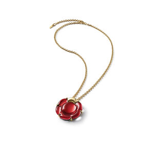 B FLOWER COLLIER  Rouge miroir Image