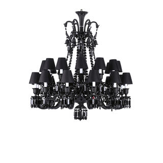 ZÉNITH BLACK CHANDELIER