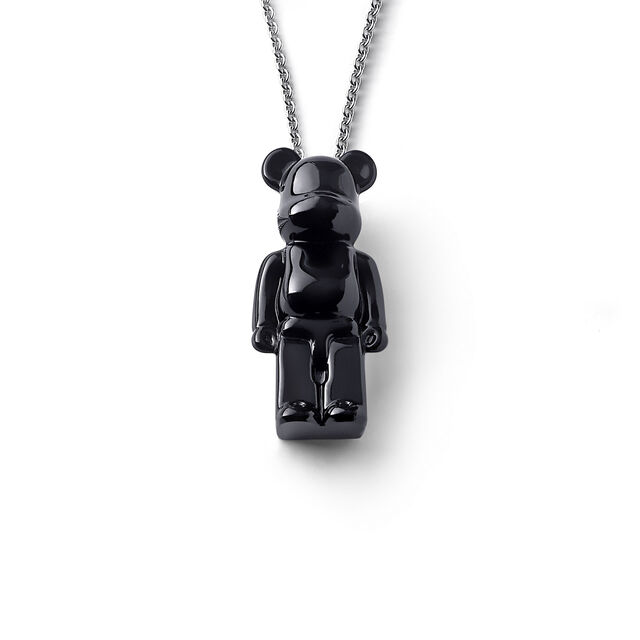 BACCARAT BE@RBRICK NECKLACE, Black