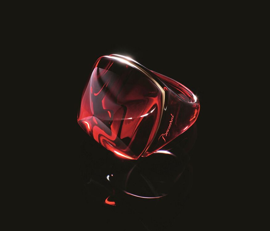 LA BAGUE POP, Rouge - 5