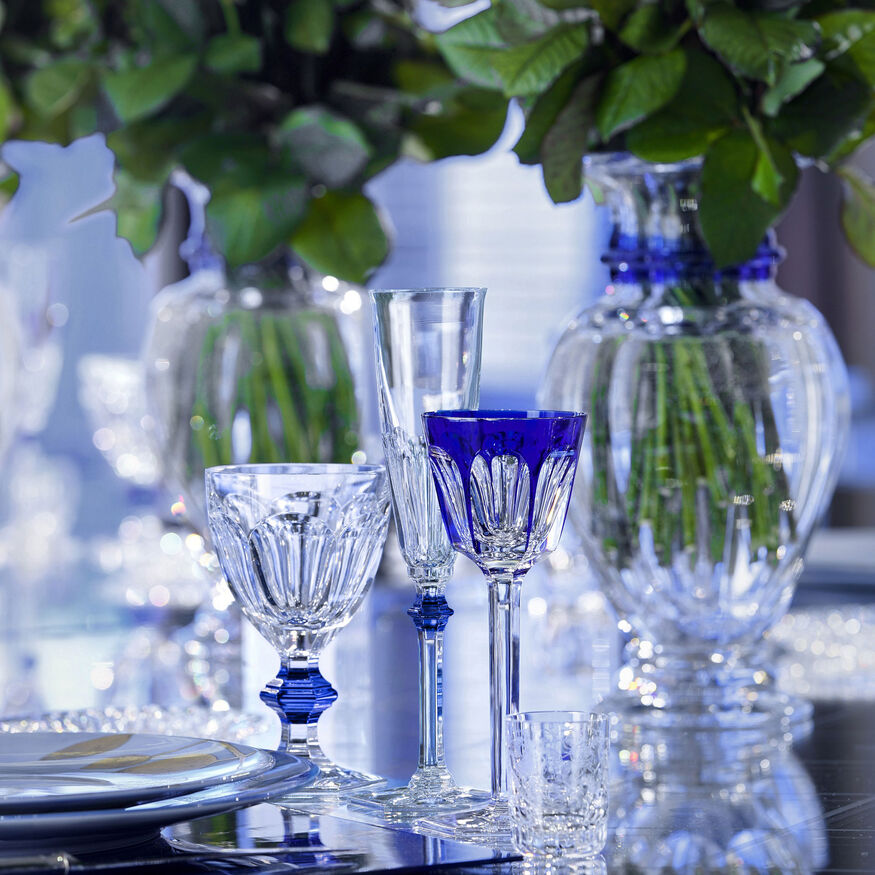 HARCOURT EVE FLUTE  Clear & blue - 2