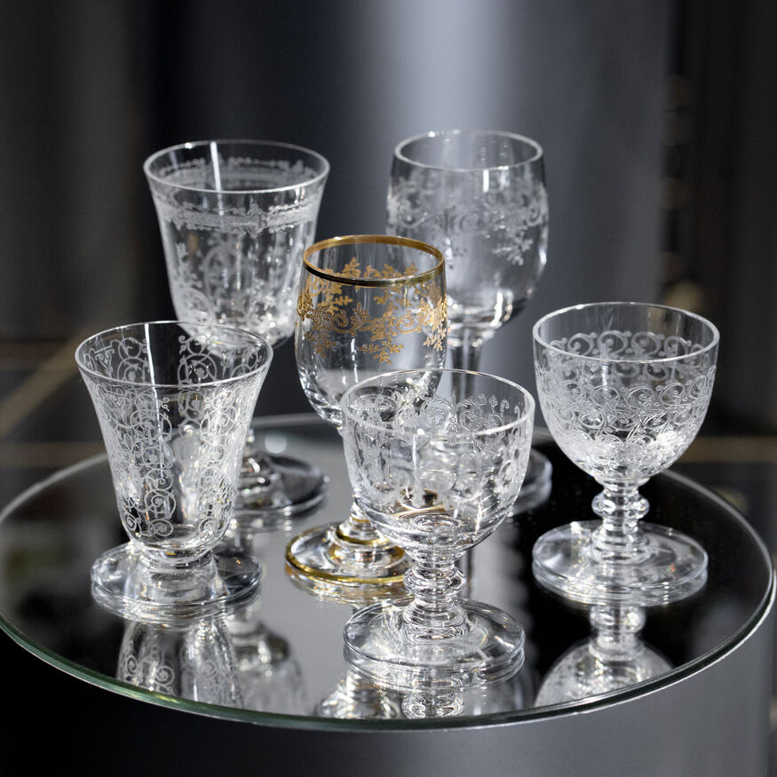 LIQUOR GLASS SET,  - 2