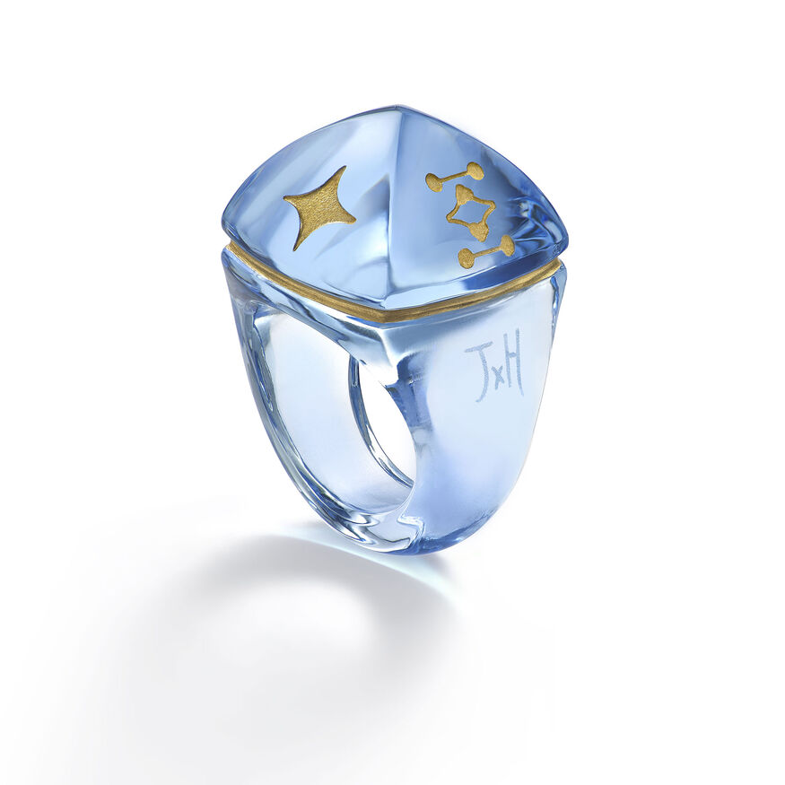 MEDICIS POP RING, Light blue - 2
