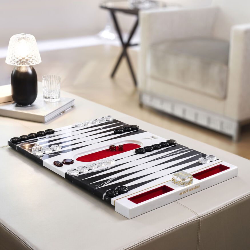BACKGAMMON GAME,  - 2