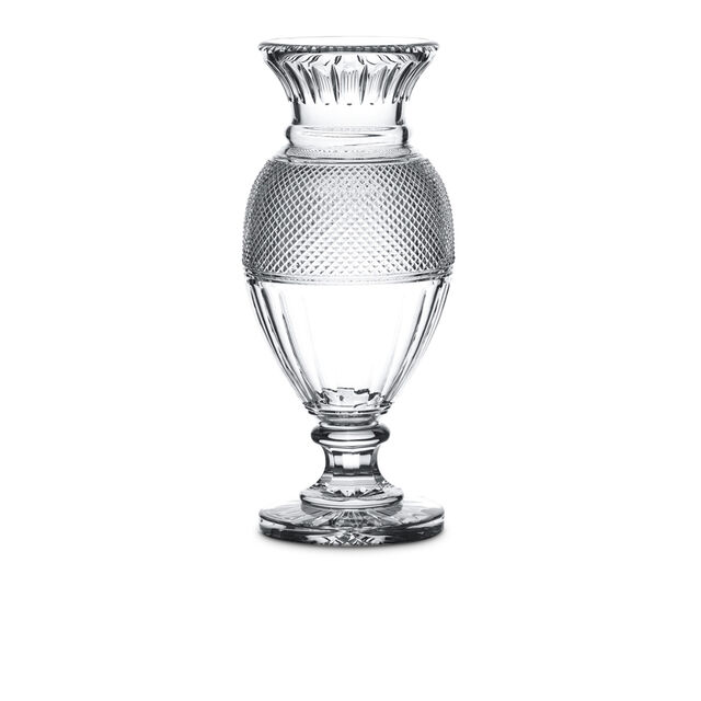 DIAMANT BALUSTRE VASE,