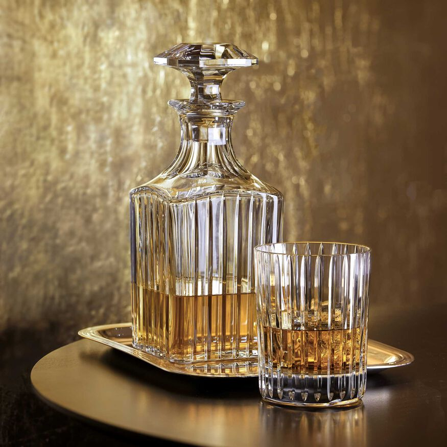 HARMONIE WHISKEY DECANTER SQUARE   - 2