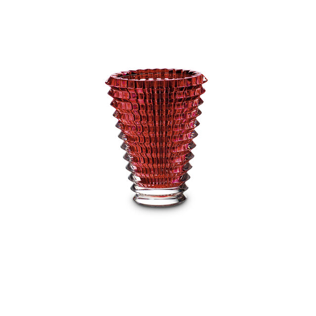 EYE VASE ROND S, Rouge
