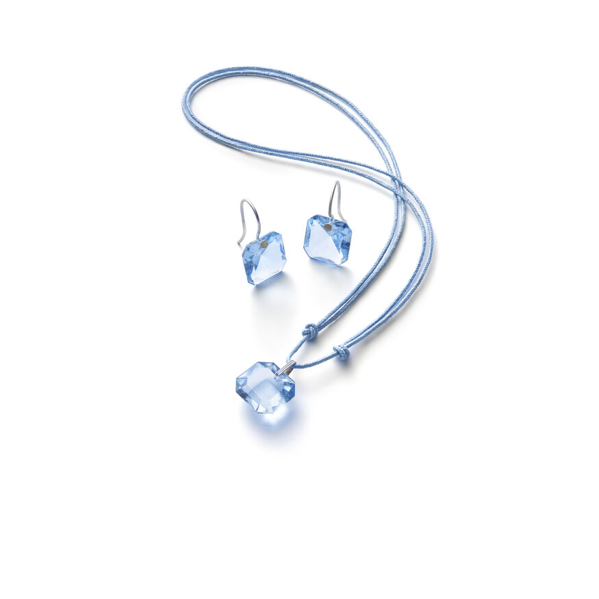 BACCARAT PAR MARIE-HÉLÈNE DE TAILLAC EARRINGS, Light blue - 2