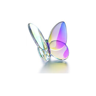 PAPILLON LUCKY BUTTERFLY  Iridescent clear