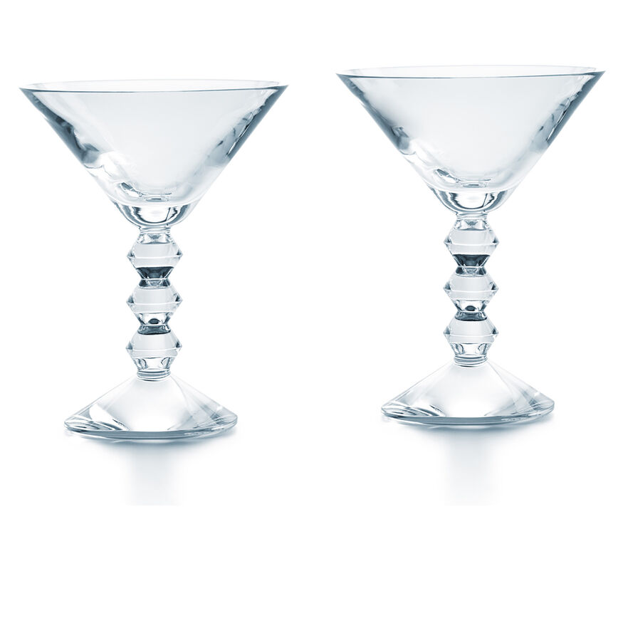 VÉGA MARTINI GLASS  Clear