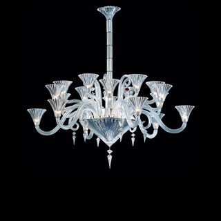 MILLE NUITS CHANDELIER 6 TO 24 LIGHTS  Clear