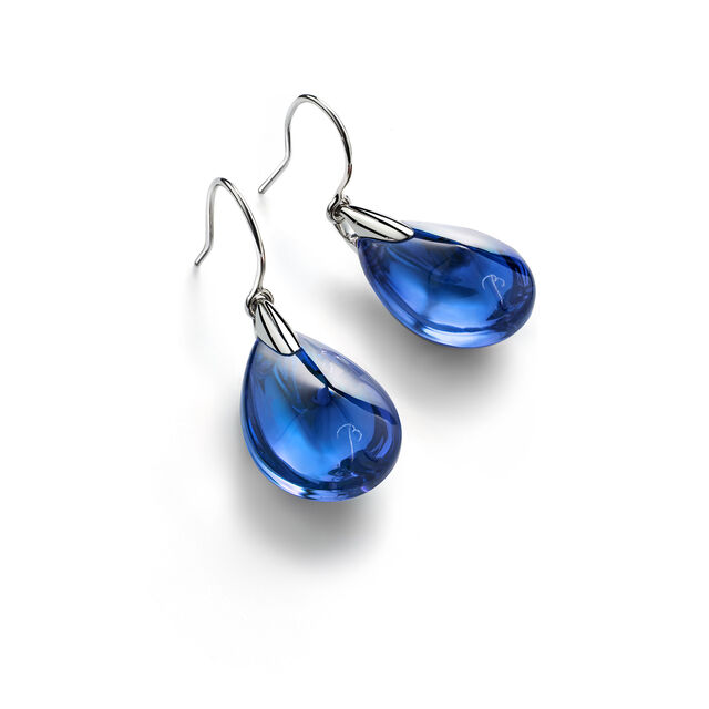 PSYDÉLIC EARRINGS, Riviera blue