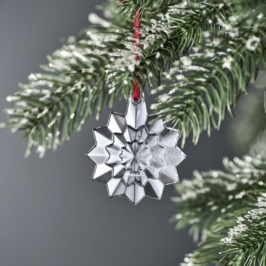 CHRISTMAS ANNUAL ORNAMENT ENGRAVED NOËL 2019, Clear - 2