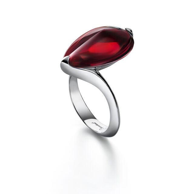 FLEURS DE PSYDÉLIC RING, Iridescent red