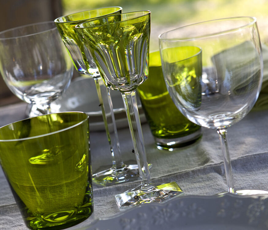 HARCOURT WINE RHINE GLASS, Moss - 2
