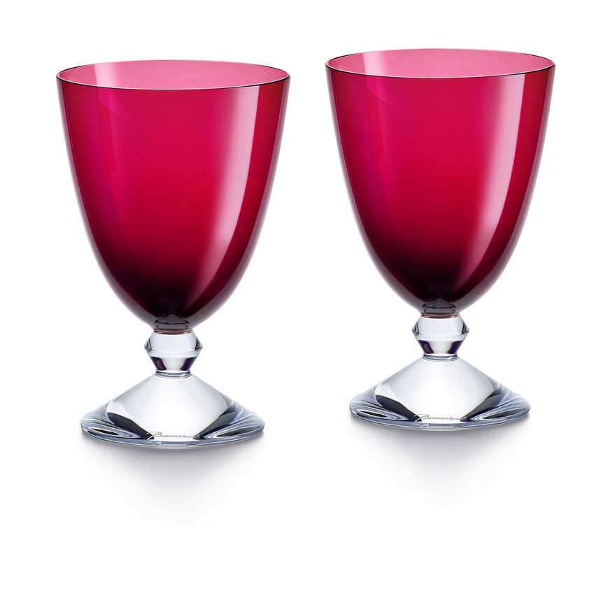 VÉGA GLASS, Red