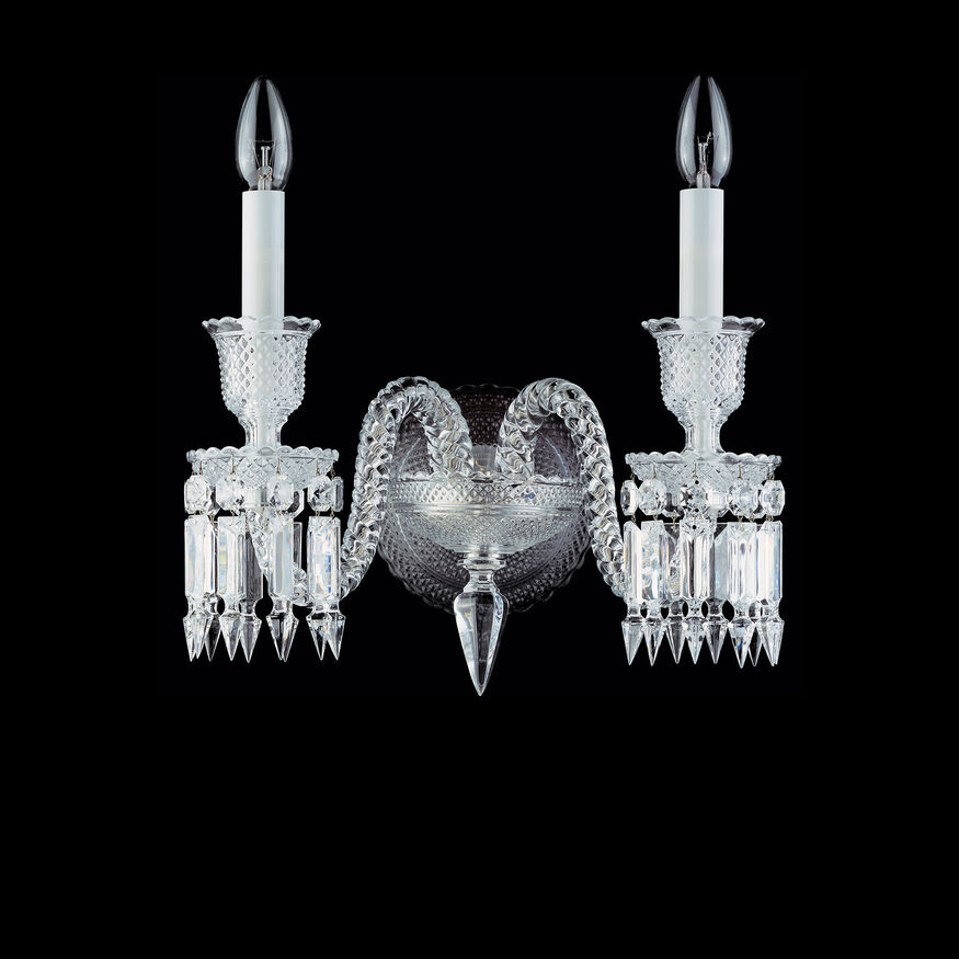 ZÉNITH WALL SCONCE  Clear