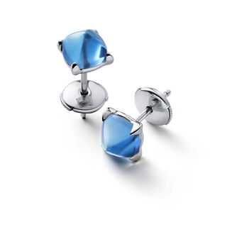 MINI MÉDICIS EARRINGS  Riviera blue Image