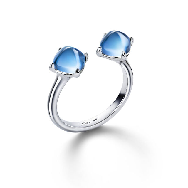 MINI MÉDICIS TOI&MOI RING, Riviera blue