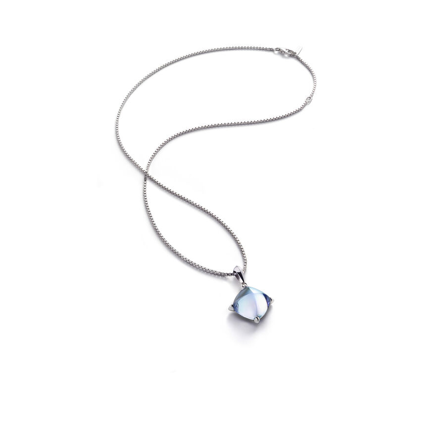 MÉDICIS NECKLACE, Aqua mirror