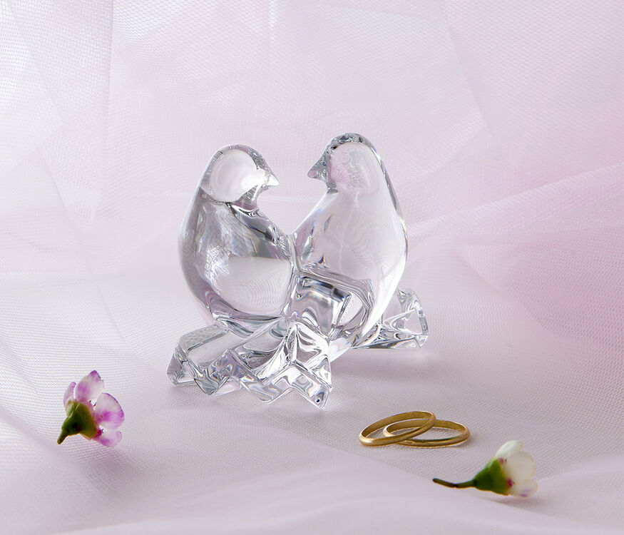 SAINT-VALENTIN DOVES  Clear - 2
