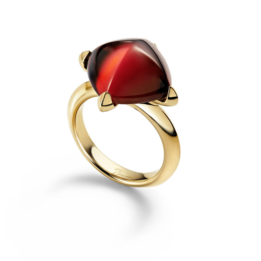 MÉDICIS RING, Red mirror - 1