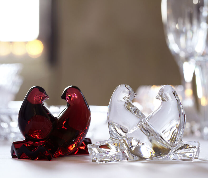 SAINT-VALENTIN DOVES, Red - 3