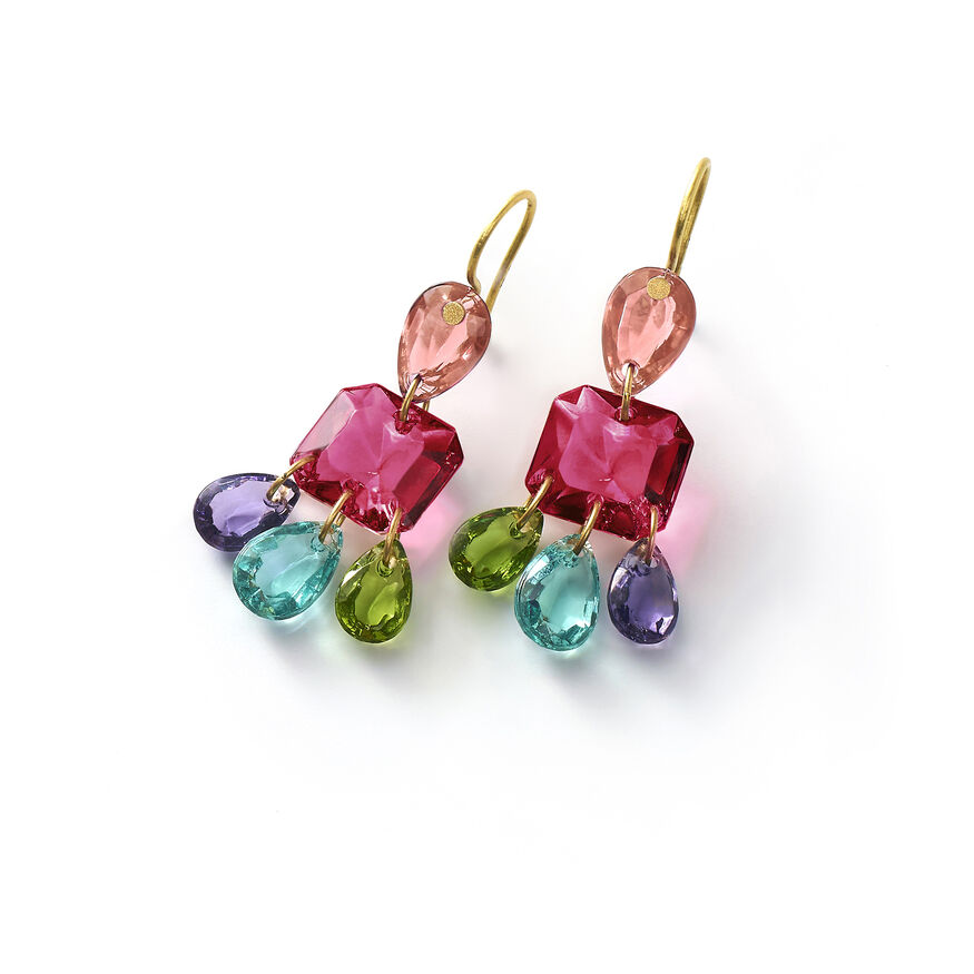 BACCARAT PAR MARIE-HÉLÈNE DE TAILLAC EARRINGS, Multico - 1