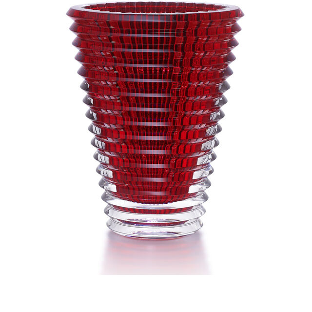 EYE VASE ROND XL, Rouge