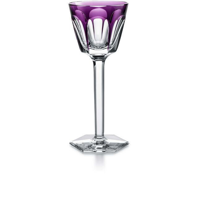 HARCOURT WINE RHINE GLASS, Purple