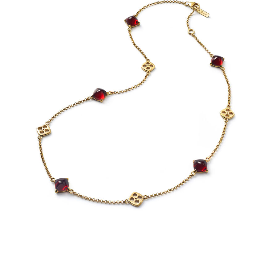 MINI MÉDICIS NECKLACE, Red