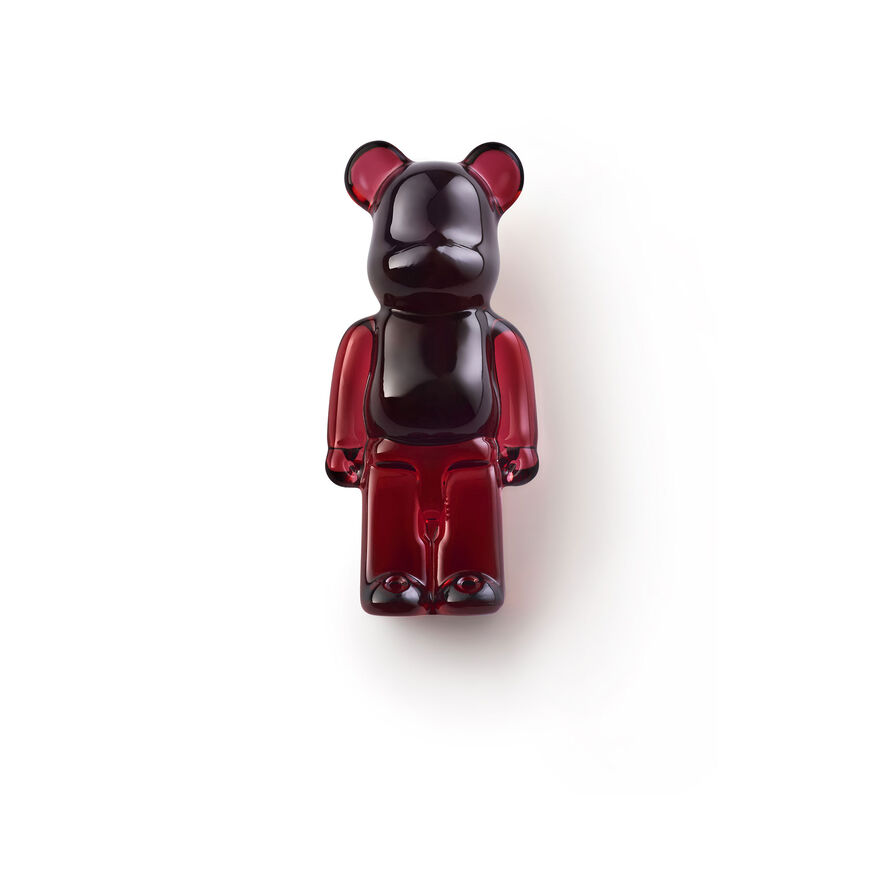 BACCARAT BE@RBRICK PINS, Rouge - 3
