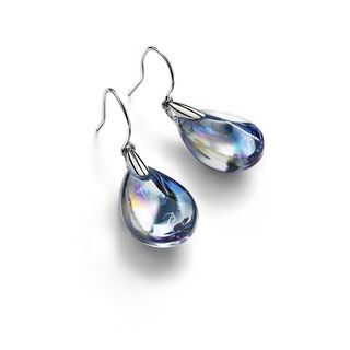 PSYDÉLIC EARRINGS  Iridescent clear Image